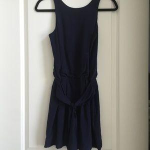 Theory Navy Dress